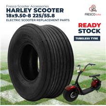Harley (Tubeless Tyre) 18x9.50-8 225/55.8 Electric Scooter