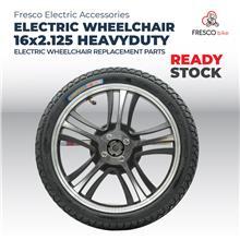 Fresco Electric Wheelchair Heavy Duty Foldable RIM TYRE 16x2.125