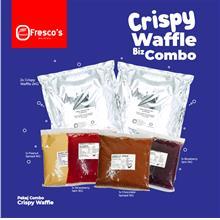 Crispy Waffle Business Combo Jimat Package