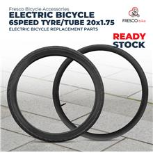 Electric Bicycle 6speed Tyre/Tube 20 x 1.75 Electric Bike