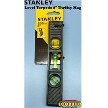 STANLEY Level Torpedo 8 inches Thrifty Mag / Spirit Lever STHT42291-8