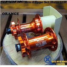 SPANK Hex J-Type Set Hubs 102T 32H (Sell in Set)