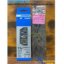 SHIMANO 105 11-Speed Super Narrow Road Chain (CN-HG601-11)126 Links