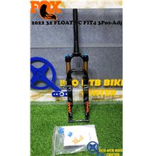 FOX 2022 32 FLOAT SC FIT4 3Pos-Adj 44mm Rake