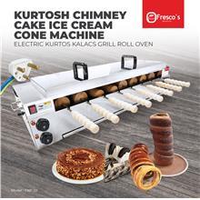 Kurtosh Chimney Cake Ice Cream Cone Machine Electric Kurtos Kalacs