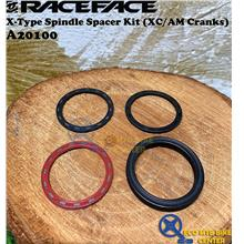RACEFACE X-Type Spindle Spacer Kit (XC/AM Cranks) A20100