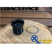 RACEFACE Cinch Drive Side Crank Bolt with Washer F30024