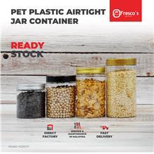 HQRSJ7 Container PET Plastic Round Jar Bottle