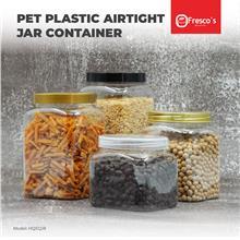 HQSQJ8 Square Container PET Plastic Jar Bottle