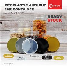 HQRSJ8 Container PET Plastic Round Jar Bottle