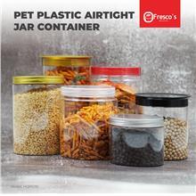 HQRSJ10 Container PET Plastic Round Jar Bottle