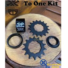 DA BOMB To One Kits For Single Speed 14T/16T