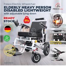 Fresco Electric Wheelchair Elderly Heavy Person Disabled Lightweight