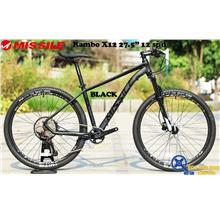 "MISSILE Bike Rambo X12 27.5"" x 17"" 12 Speed MTB"