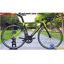 MISSILE Bike Wind 3000 700c 18 Speed Road Bike