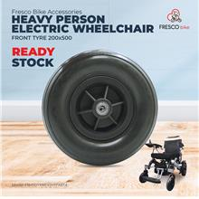 Heavy Person Front Wheel 200x500 Tyre Electric Wheelchair Spare parts