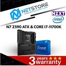PWP NZXT N7 Z590 BLACK ATX & INTEL CORE I7-11700K PROCESSOR
