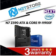 PWP NZXT N7 Z590 BLACK ATX & INTEL CORE I9-11900F PROCESSOR