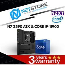 PWP NZXT N7 Z590 BLACK ATX & INTEL CORE I9-11900 PROCESSOR