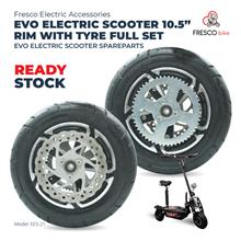 """EES-21 Evo Electric Scooter 10.5"""" Rim With Tyre Full Set Spare parts"""