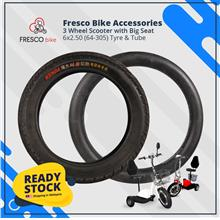 3 Wheel Scooter 6 x 2.50 (64-305) Tyre/Tube