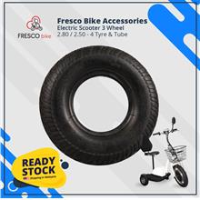 Electric Scooter 3 Wheel 2.80/2.50-4 Tyre Tube