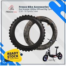Evo Scooter 2000w 2.50 - 10 Tyre & Tube