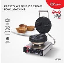 FRESCO Waffle Ice Cream Bowl Machine