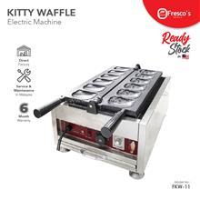 Kitty Waffle Machine Electric