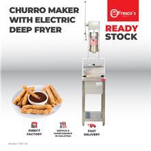 Churro Maker Machine With Deep Fryer Electric
