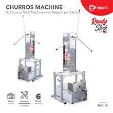 Churro Machine Maker 5L with Rack with Electric Deep Fryer