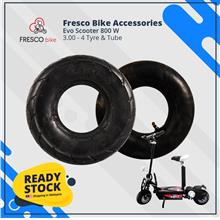Evo Scooter 800 W 3.00-4 Tyre & Tube