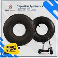 Evo Scooter 1000 W 4.10 / 3.50-4 Tyre & Tube
