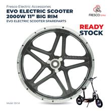 "Evo Electric Scooter 2000w 11"" Big Rim Spareparts"
