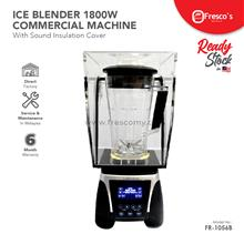 Ice Blender Machine Digital 1800W with Sound Insulation Cover