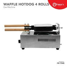 Fresco Hotdog hot dog sausage waffle maker machine gas 4 Roll