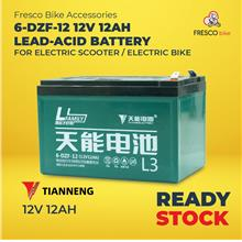 Tianneng 6-DZF-12 12V 12AH for Electric Bike/Electric Scooter Battery