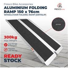 Wheelchair Aluminium Ramp Portable (Antislip) 150 X 76cm