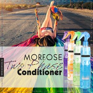 MORFOSE Bubble Shampoo 230ml & Two-Phase Conditioner 220ml Biotin SET