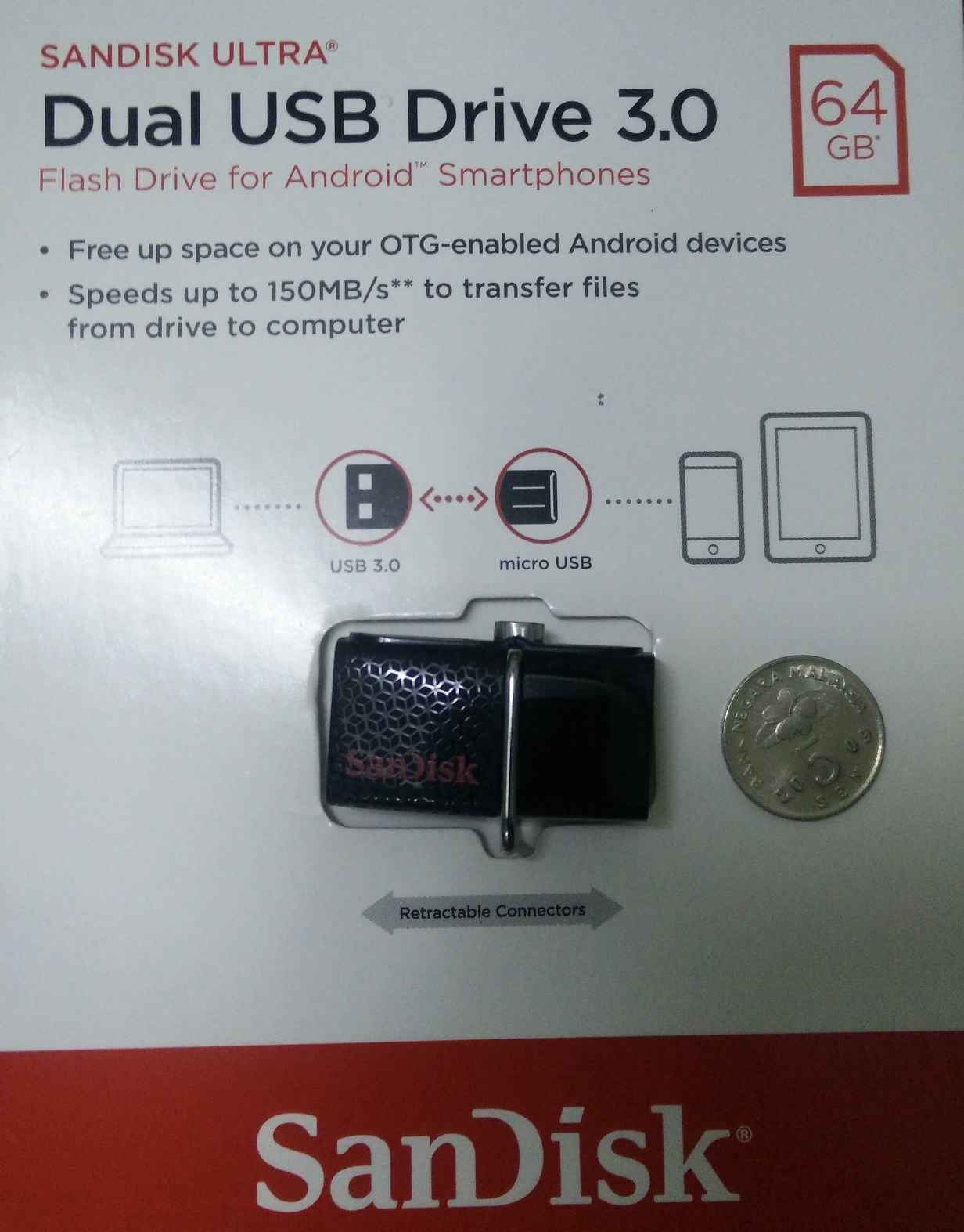 Sandisk Ultra Dual Otg 128gb 64gb 32 End 4 23 2019 149 Pm Usb Drive 30 Sddd2 Item Received 3 Days After Payment In Good Condition