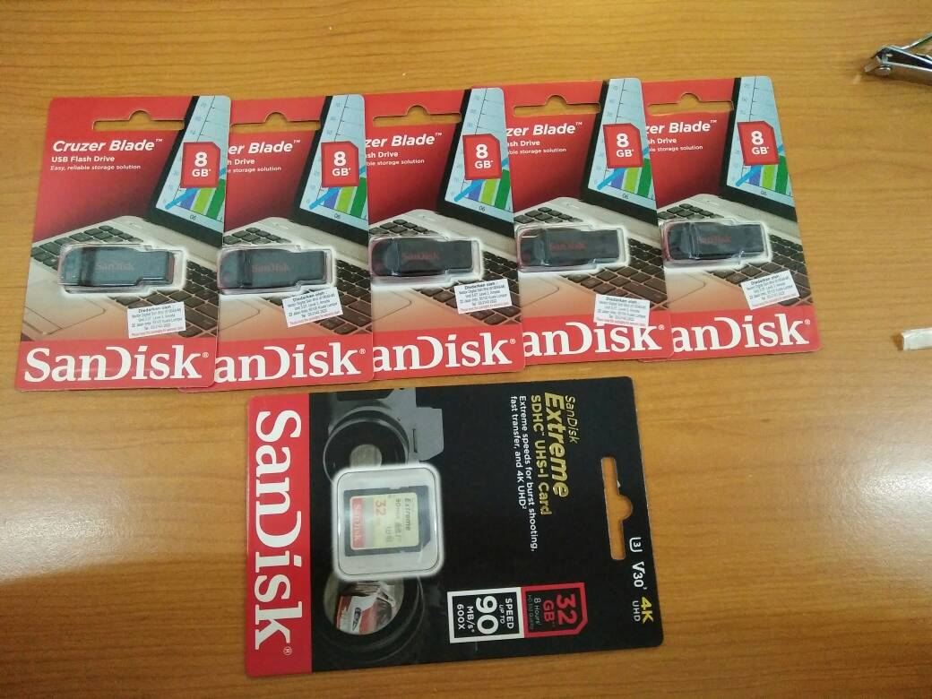 Sandisk Cruzer Blade 8gb 16gb 32gb 6 End 5 9 2019 1136 Am Flashdisk Dial Cz57 Updated Review Thank You Ookas